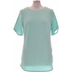 Vêtements Femme Tops / Blouses Damart Top Manches Courtes  38 - T2 - M Bleu