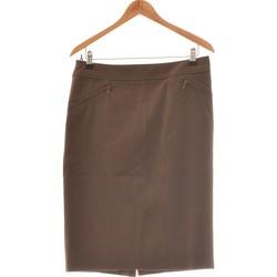 Vêtements Femme Jupes Marella Jupe Mi Longue  42 - T4 - L/xl Marron
