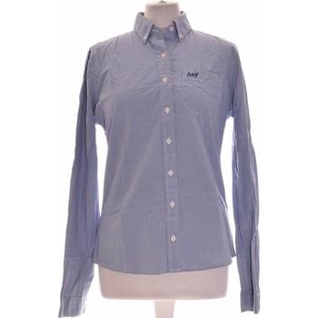 Vêtements Femme Chemises / Chemisiers Abercrombie Chemise  40 - T3 - L Bleu