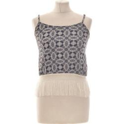Vêtements Femme Débardeurs / T-shirts sans manche Cache Cache Débardeur  36 - T1 - S Bleu