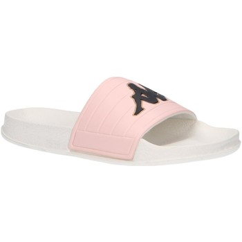 Chaussures Fille Claquettes Kappa 304Q930 LOGO MATESE Blanco