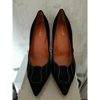 Chaussures Femme Escarpins Heyraud Escarpins noirs en Noir