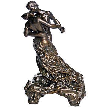 Maison & Déco Statuettes et figurines Muzeum Figurine reproduction La Valse de Camille Claudel Marron