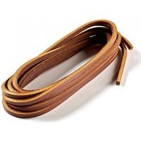 Accessoires Lacets Declermont Lacets cuirs 110 cm - 1 paire Marron