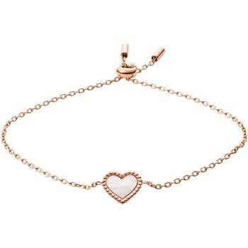 Montres & Bijoux Femme Bracelets Fossil Bracelet à chaîne  I Heart You Rose