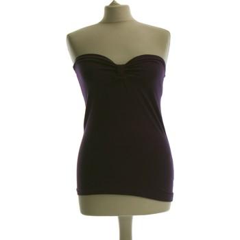 Vêtements Femme Débardeurs / T-shirts sans manche Sisley Débardeur  38 - T2 - M Violet