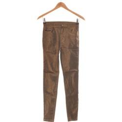 Vêtements Femme Jeans slim Calzedonia Jean Slim Femme  34 - T0 - Xs Marron