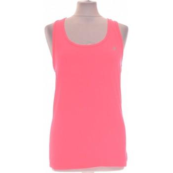 Vêtements Femme Débardeurs / T-shirts sans manche Decathlon Débardeur  36 - T1 - S Rose