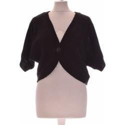 Vêtements Femme Gilets / Cardigans H&M Gilet Femme  40 - T3 - L Noir