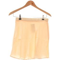 Vêtements Femme Jupes Zara Jupe Courte  34 - T0 - Xs Beige