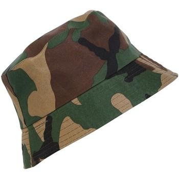 Accessoires textile Chapeaux Chapeau-Tendance Bob ARMEE Vert kaki