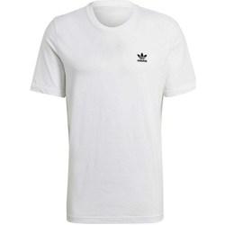 Vêtements Homme T-shirts manches courtes adidas Originals Essential Tee Blanc
