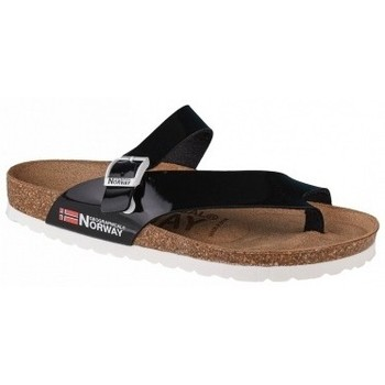 Chaussures Femme Mules Geographical Norway Sandalias Infradito Donna noir