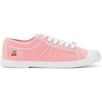 Chaussures Femme Tennis Le Temps des Cerises basic 02- Rose Rose