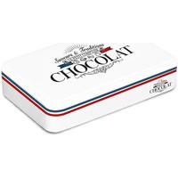 Maison & Déco Paniers, boites et corbeilles Retro Boite blanche pour le chocolat style Frenchy Blanc