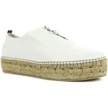Chaussures Femme Espadrilles Gaimo Ruleta Blanc
