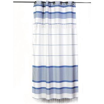 Maison & Déco Rideaux, stores Fouta Futée CARTHAGE 250 à 280cm rideau ajustable hauteur Blanc