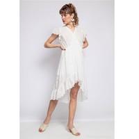 Vêtements Femme Robes courtes Fashion brands U5233-BLANC Blanc