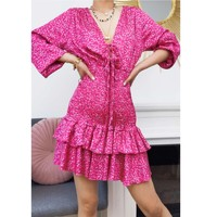 Vêtements Femme Robes courtes Fashion brands 22974-FUSHIA Fushia