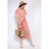 Vêtements Femme Robes courtes Fashion brands 6658-CORAIL Corail