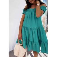Vêtements Femme Robes courtes Fashion brands R5119-VERT-D-EAU Vert d'eau