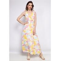 Vêtements Femme Robes courtes Fashion brands R185-JAUNE Jaune