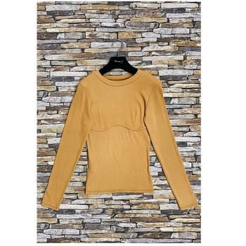 Vêtements Femme Tops / Blouses Fashion brands HD-2813-N-BROWN Marron