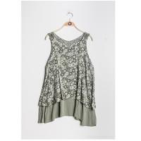 Vêtements Femme Tops / Blouses Fashion brands 9673-KAKI Kaki