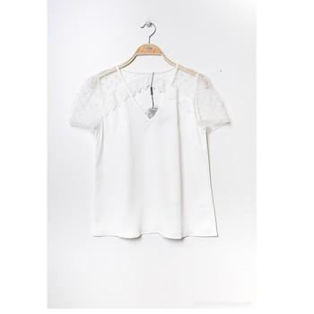 Vêtements Femme Tops / Blouses Fashion brands K5518-WHITE Blanc