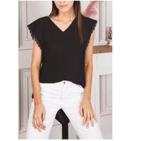 Vêtements Femme Tops / Blouses Fashion brands F2106-BLACK Noir