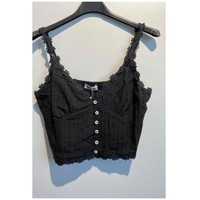 Vêtements Femme Tops / Blouses Fashion brands 6133-BLACK Noir