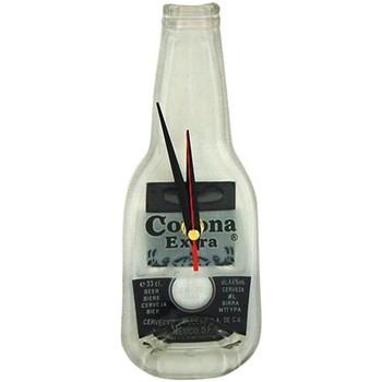 Maison & Déco Horloges Retro Pendule en verre Corona Blanc