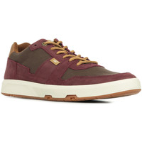 Chaussures Homme Baskets basses Caterpillar Line Up Canvas rouge