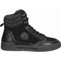Chaussures Femme Baskets montantes Bugatti Sneaker Schwarz