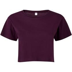 Vêtements Femme Tops / Blouses Tridri TR019 Pourpre
