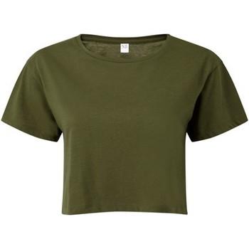Vêtements Femme Tops / Blouses Tridri TR019 Olive