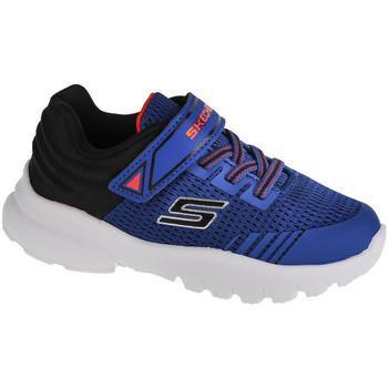 Chaussures Enfant Baskets basses Skechers Razor Flex-Mezder Bleu