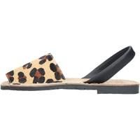 Chaussures Femme Sandales et Nu-pieds Ska 201 IBIZA DGN SANDALS femme LÉOPARD LÉOPARD