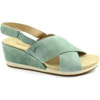 Chaussures Femme Sandales et Nu-pieds Benvado BEN-RRR-43002009-SA Verde