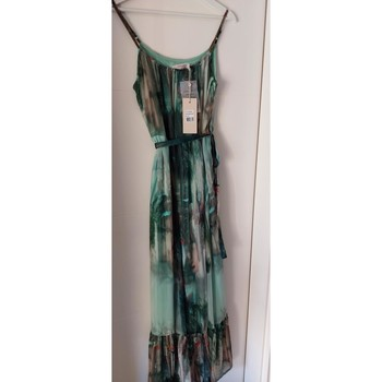 Vêtements Femme Robes longues Cream Robe longue  neuve Vert
