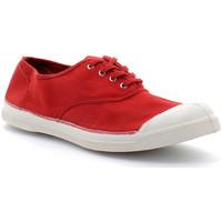Chaussures Femme Tennis Bensimon lacet Rouge