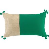 Maison & Déco Coussins 1001Kdo Pour La Maison Coussin 30 x 50 cm Thalia vert