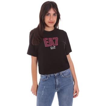Vêtements Femme T-shirts manches courtes Ea7 Emporio Armani 3KTT23 TJ1TZ Noir