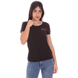 Vêtements Femme T-shirts manches courtes Ea7 Emporio Armani 8NTT65 TJ28Z Noir