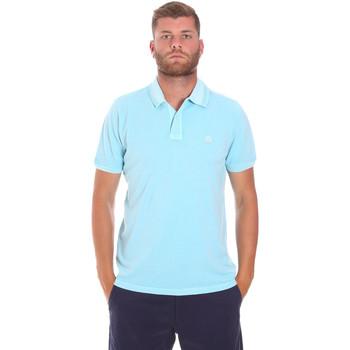 Vêtements Homme Polos manches courtes Sundek M787PLPQ1TC Bleu