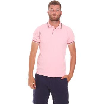 Vêtements Homme Polos manches courtes Sundek M779PLJ6500 Rose