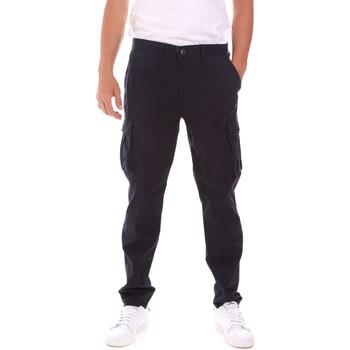 Vêtements Homme Pantalons cargo Lumberjack CM80747 007EU Bleu