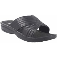 Chaussures Femme Mules Kelara Dame de plage  K02017 noir Noir