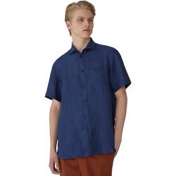 Vêtements Homme Chemises manches courtes Trussardi 52C00213-1T002248 Bleu