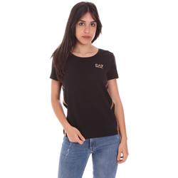 Vêtements Femme T-shirts manches courtes Ea7 Emporio Armani 3KTT51 TJ9VZ Noir